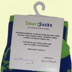 Smart Socks stichting Alzheimer